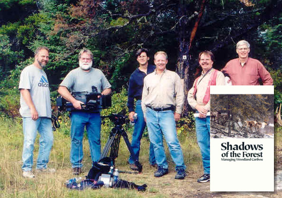 "The Eastern Region Woodland Caribou Management Committee ""on location""."