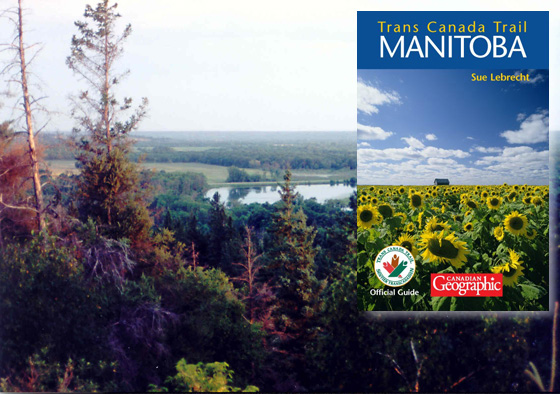 View from the Trans Canada Trail in Manitoba.