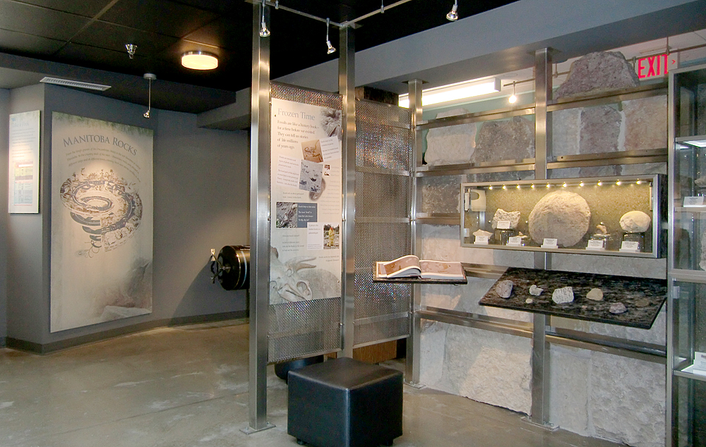 Manitoba Rocks Gallery is great for school groups to learn about rocks and the rock cycle. Photo: wickettdesign