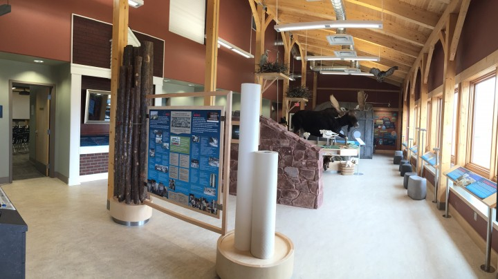 Red Rock Marina Centre main exhibit hall
