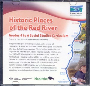 Historic Places of the Red River Vol I & II are available for download.