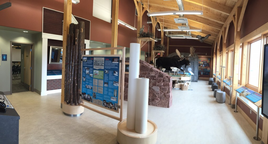 Red Rock Marina Centre main exhibit hall