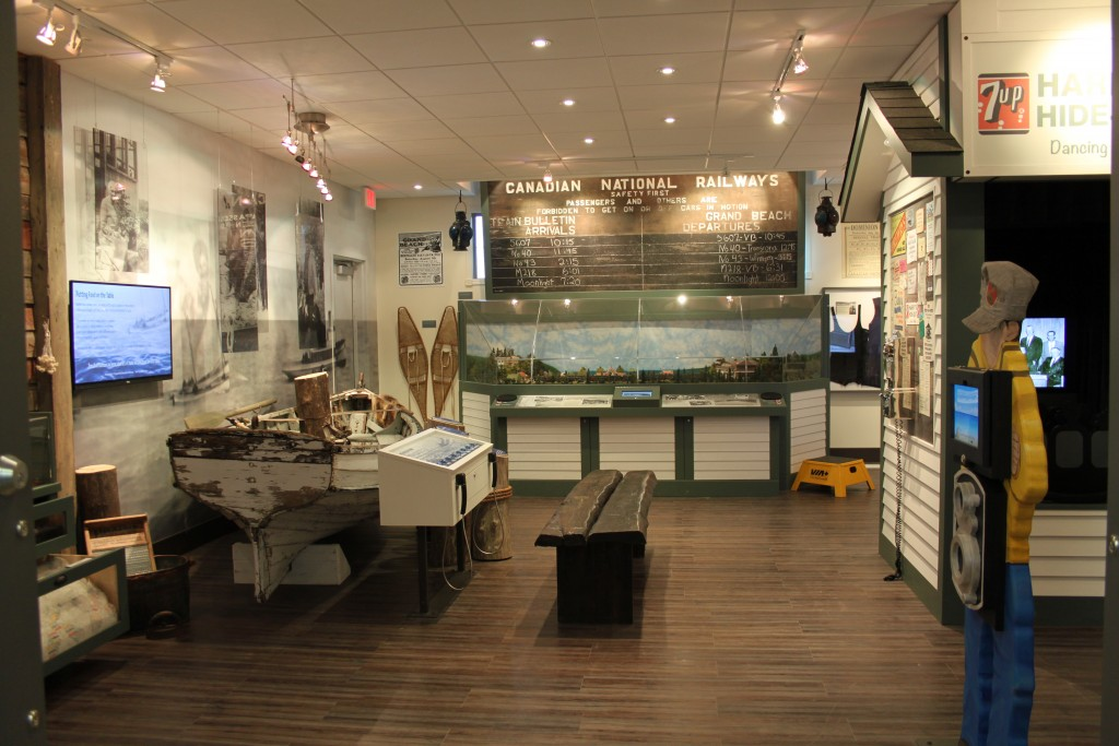 Once you past the aquariums and Lake Winnipeg exhibit you enter the main exhibit area.